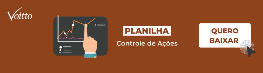Planilha de Controle de Ações