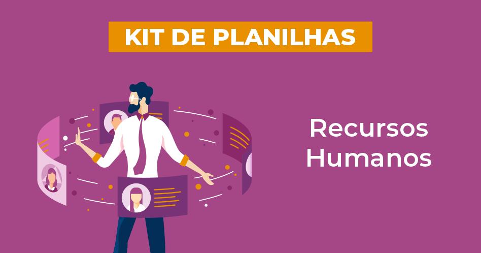 Kit de Planilhas de Recursos Humanos