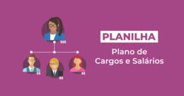 [Planilha] Plano de Cargos e Salários