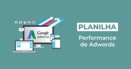 [Planilha] Performance de Adwords